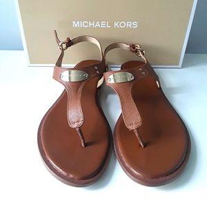 Michael Kors women's leather sandals